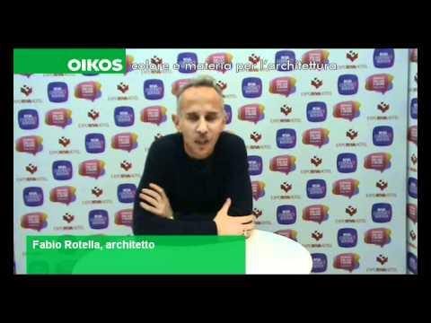Fabio Rotella all'Oikos Live Blog dell'Expo Riva Hotel.