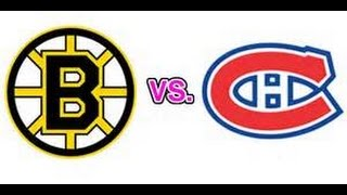NHL 08 - Boston vs. Montreal - Superstar Difficulty - PS3