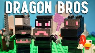 Lego Dragon Bros Stop Motion!   The HermitBrick (Song by ElyBeatMaker)