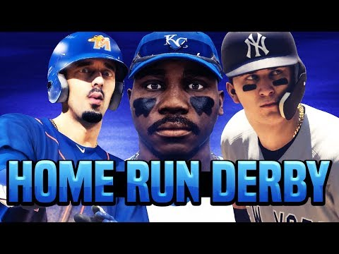 HOME RUN DERBY VS OTHER YOUTUBERS! MLB The Show 18 Road To The Show