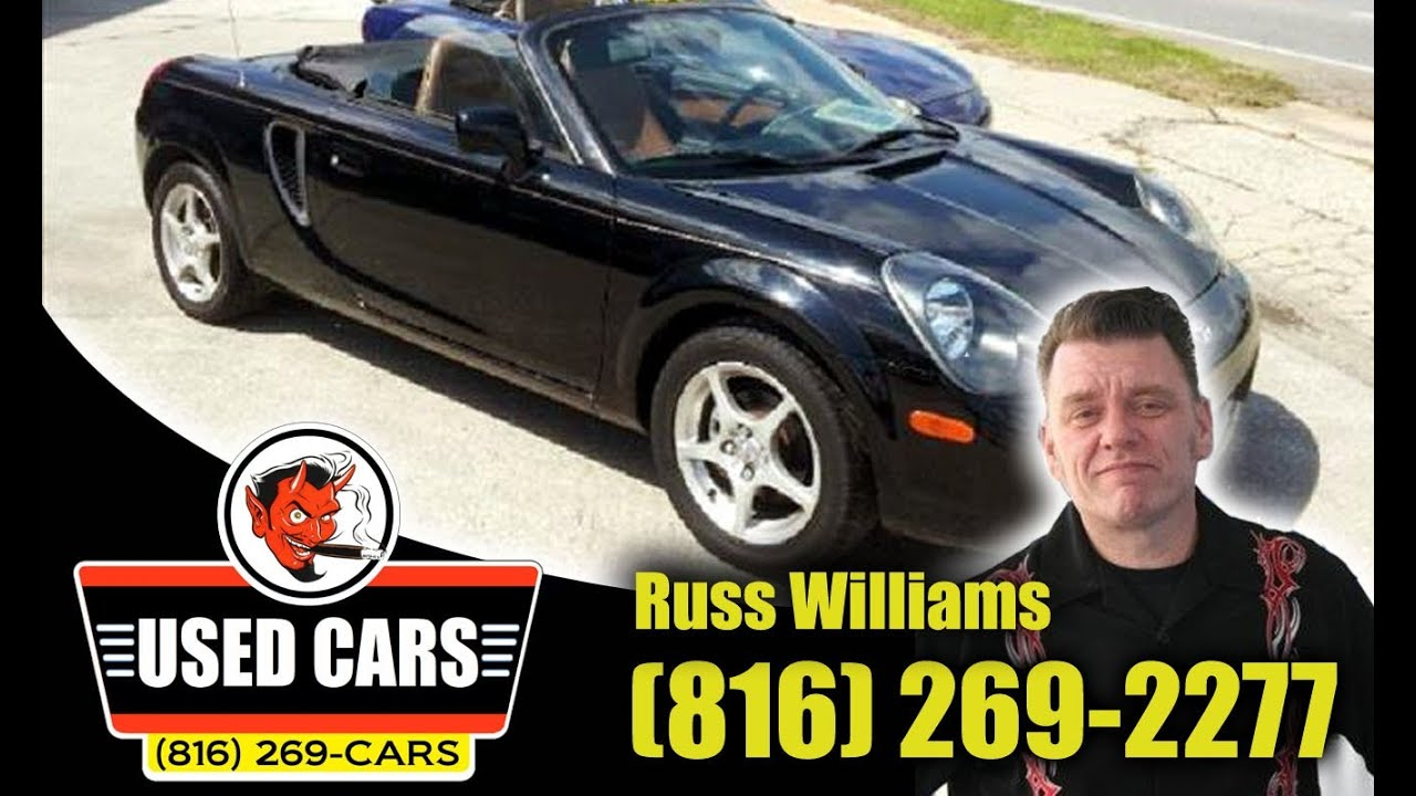 2002 toyota mr2 spyder kansas city st joseph mo ks used cars russ williams approved auto kc. Black Bedroom Furniture Sets. Home Design Ideas