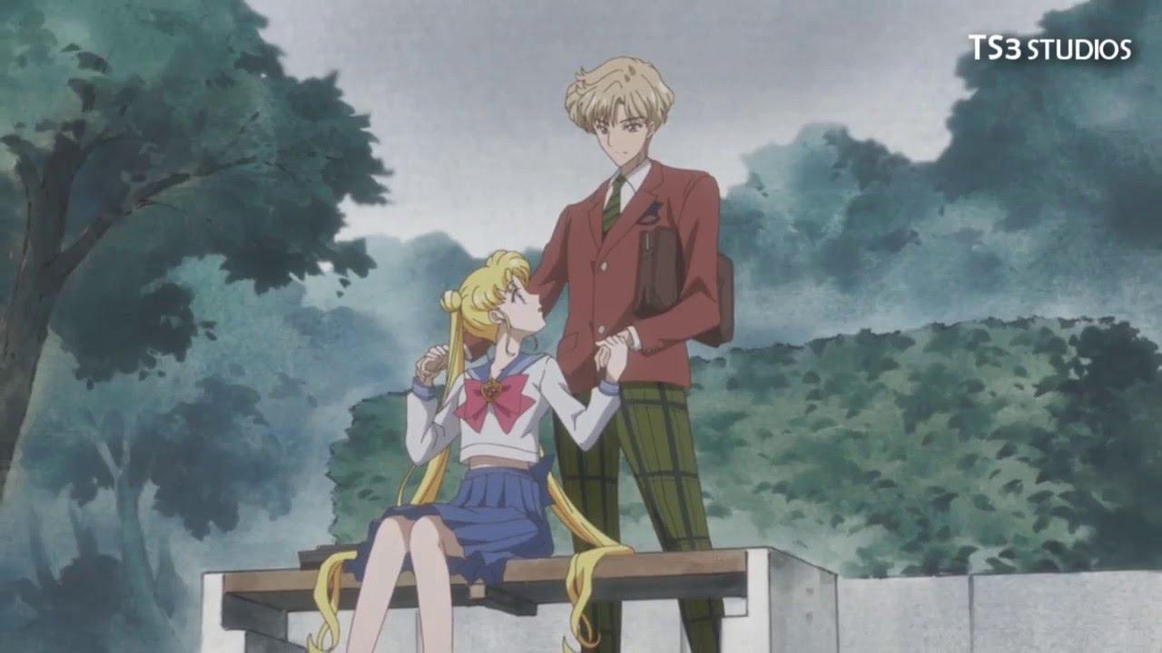 Girl Hugs Boy Wallpaper Sailor Moon Crystal Season 3 Sailor Uranus And Sailor