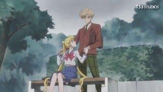 Sailor Moon Crystal Season 3 - Sailor Uranus and Sailor Moon SCENE  (ENG SUB) (HD)