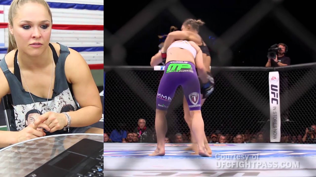 Download Ronda Rousey breaks down her fight with Alexis Davis
