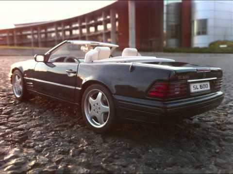 118 AUTOart Mercedes SL 600 R129  YouTube