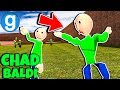 Brand New Baldi's Basics in Education and Learning The Chad Meme Gmod Garry's Mod Funny Moments #2