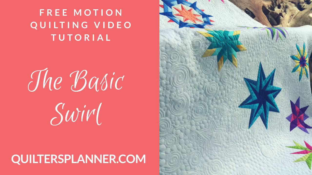Video tutorial: learn the basics of free motion quilting youtube.