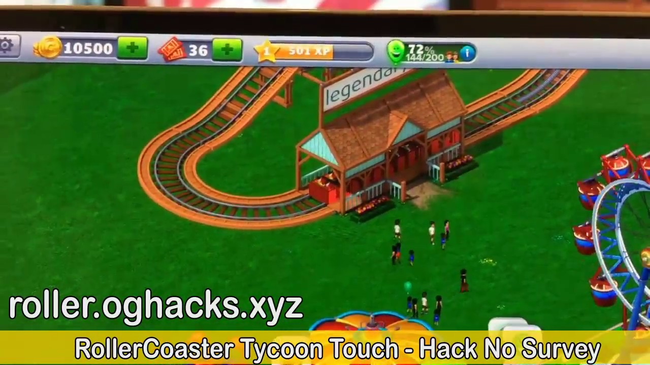 Atari Rollercoaster Tycoon Touch For Android Is Now – Wonderful