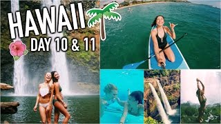 Lifeguards Had to Save Me, Epic Waterfall, & More Injuries! HAWAII DAY 10 & 11