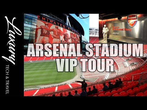 Arsenal Football Club Stadium Tour & Days out in London
