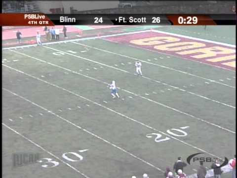 Blinn Wins Njcaa Championship Game On An 83 Yard Punt Return Youtube