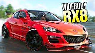 The Crew 2 - NEW Mazda RX8 WIDEBODY CUSTOMIZATION!