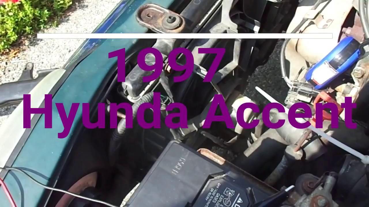 1997 Hyundai Accent / Engine Coolant Temperature Sensor