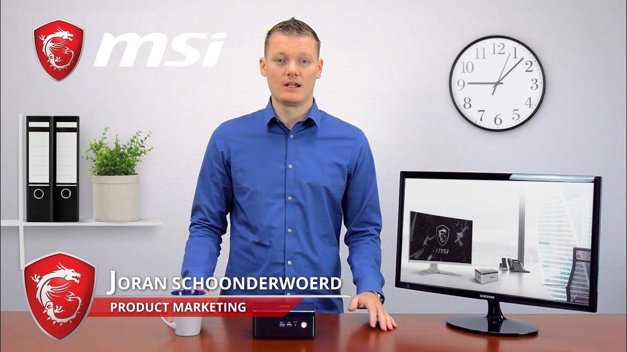 Introducing the Cubi 3 Silent mini PC | MSI