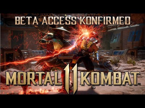 MORTAL KOMBAT  - BETA KONFIRMED FOR MARCH  - MORTAL KOMBAT