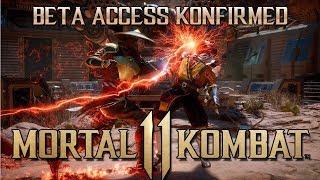 MORTAL KOMBAT 11 - BETA KONFIRMED FOR MARCH 2019 - MORTAL KOMBAT