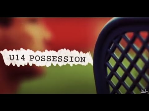 Soccer Coaching Possession Drill Playing Through The Thirds Youtube
