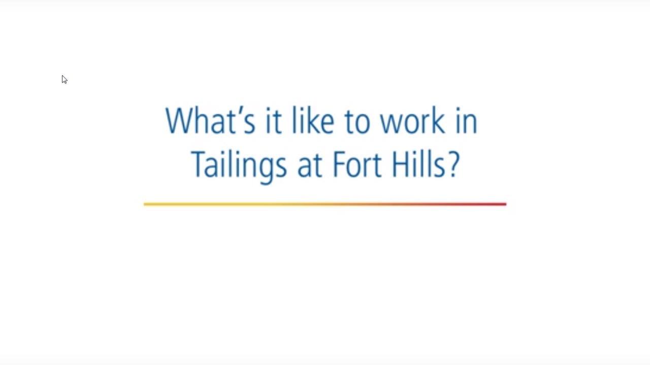 working at fort hills working at fort hills