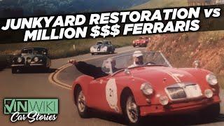 Here's how we beat Million Dollar Ferraris in our Junkyard Restored cars