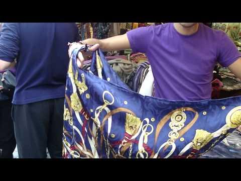 How To Tie An Italian Silk Scarf