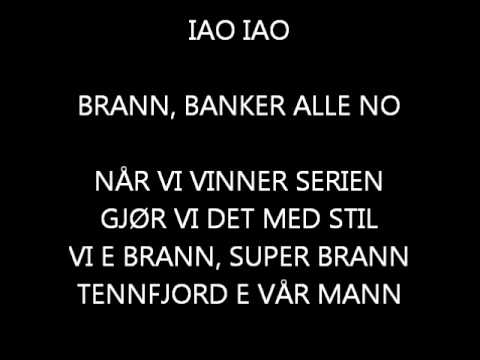 Supporterrop for SK Brann: IAO