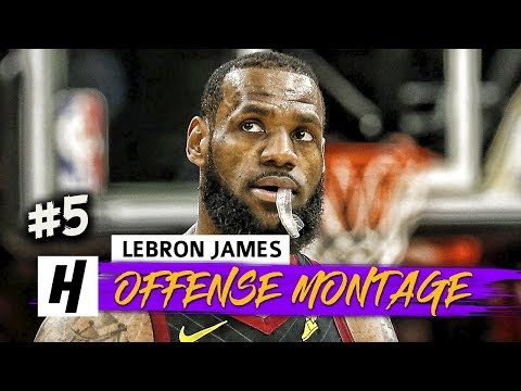LeBron James EPIC Full Offense Highlights 2017-2018 Season (Part 5) - INSANE PLAYS!