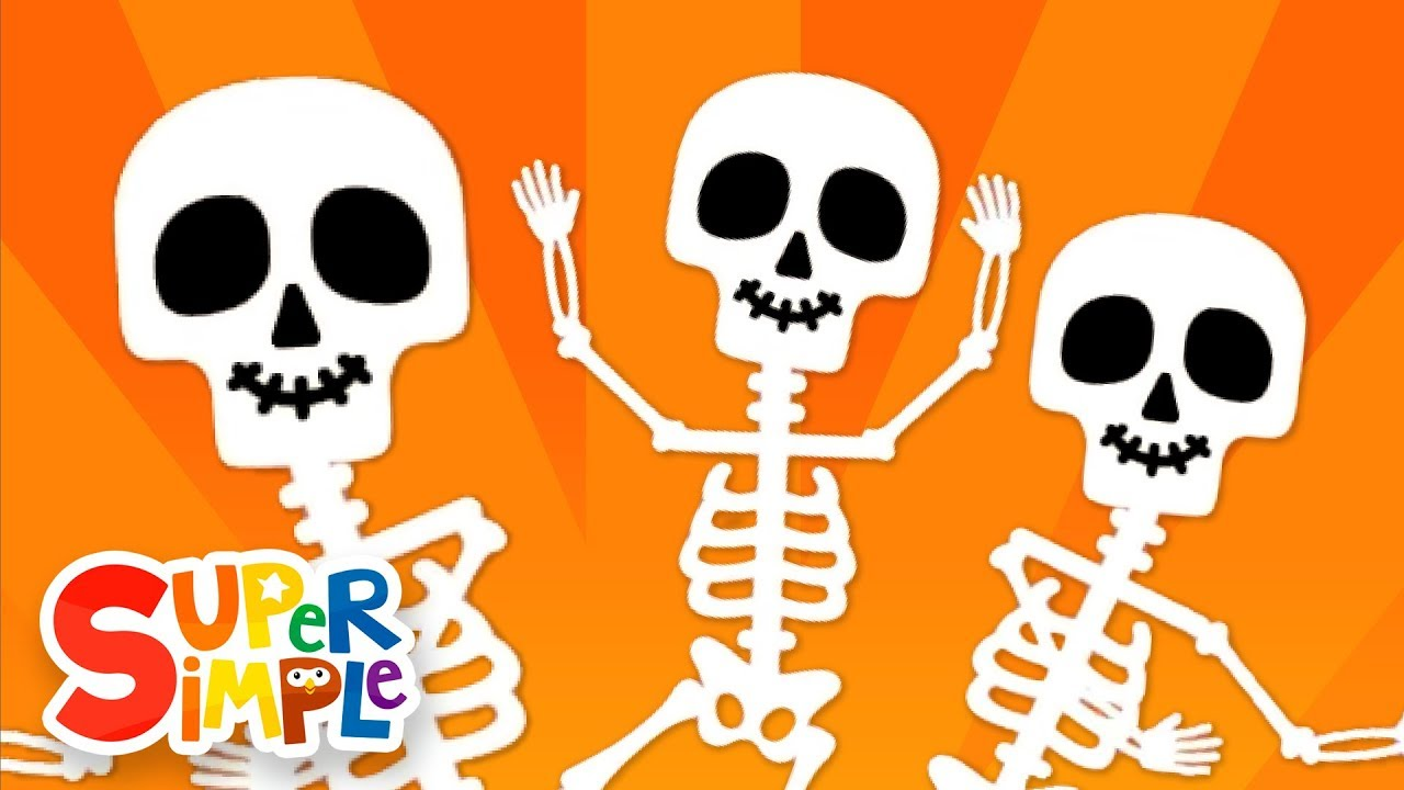 the skeleton dance halloween song for kids super simple songs youtube - Halloween Dance Song