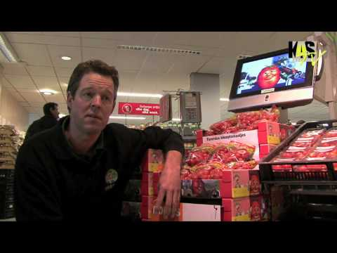 Tommies test narrowcasting bij Albert Heijn