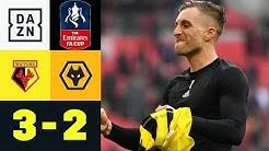 Gerard Deulofeu & Co. nach Drama-Aufholjagd im Finale: Watford - Wolverhampton 3:2   FA Cup   DAZN