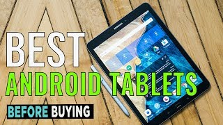 TOP 4: Best Android tablets 2017