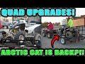 Craigslist Guy RETURNS the ARCTIC CAT!! (Cr80 Updates & Raptor 660 Upgrades)