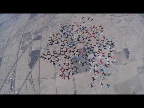 Jumpers Take to the Sky For World Record Formation Skydive