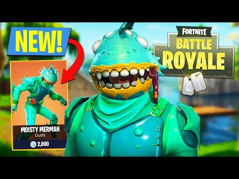 New Fortnite Monster Legendary Moisty Merman Outfit Fortnite