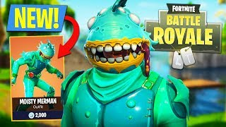 NEW FORTNITE MONSTER!! *Legendary Moisty Merman Outfit* (Fortnite Battle Royale)