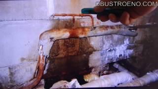 видео Что делать, если в подвале шумят трубы отопления