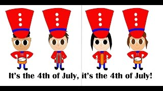 4th of July for Kids | Fourth of July Song for Kids | Preschool Educational Videos | Kindergarten