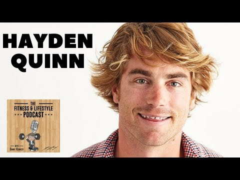 Hayden Quinn   Chef, Entrepreneur, TV Personality & Fitness Fanatic