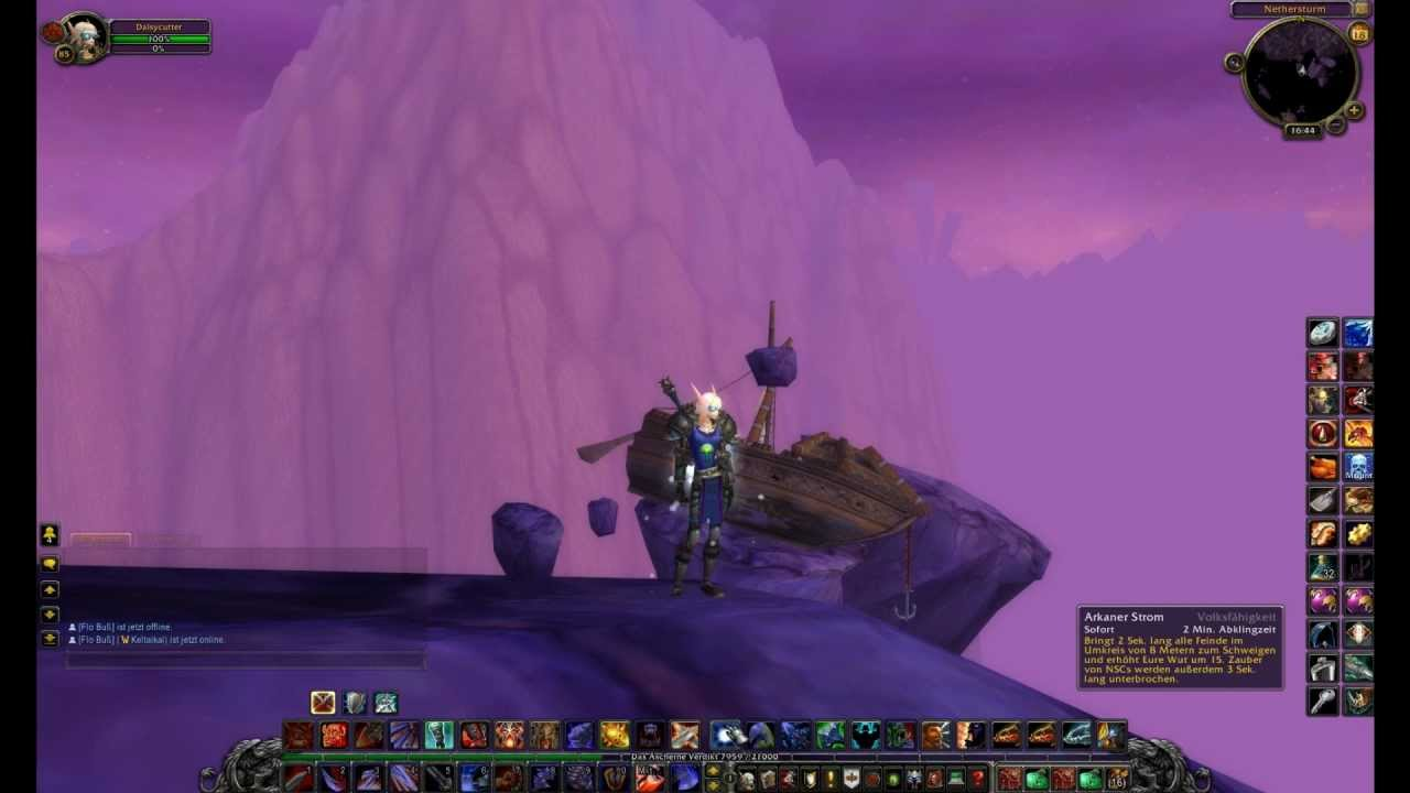 World of Warcraft Addon test: NPC Scan