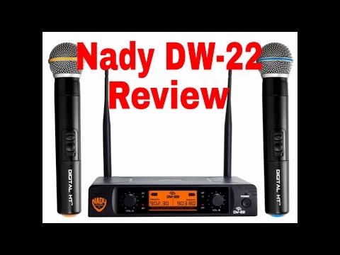 Nady DW-22 Digital Microphone Wireless System Review
