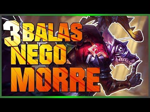 TWITCH É  UM ADC MUITO FORTE - League of Legends