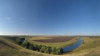 река Дон. С Непрядвы, через Куликово поле до Данкова