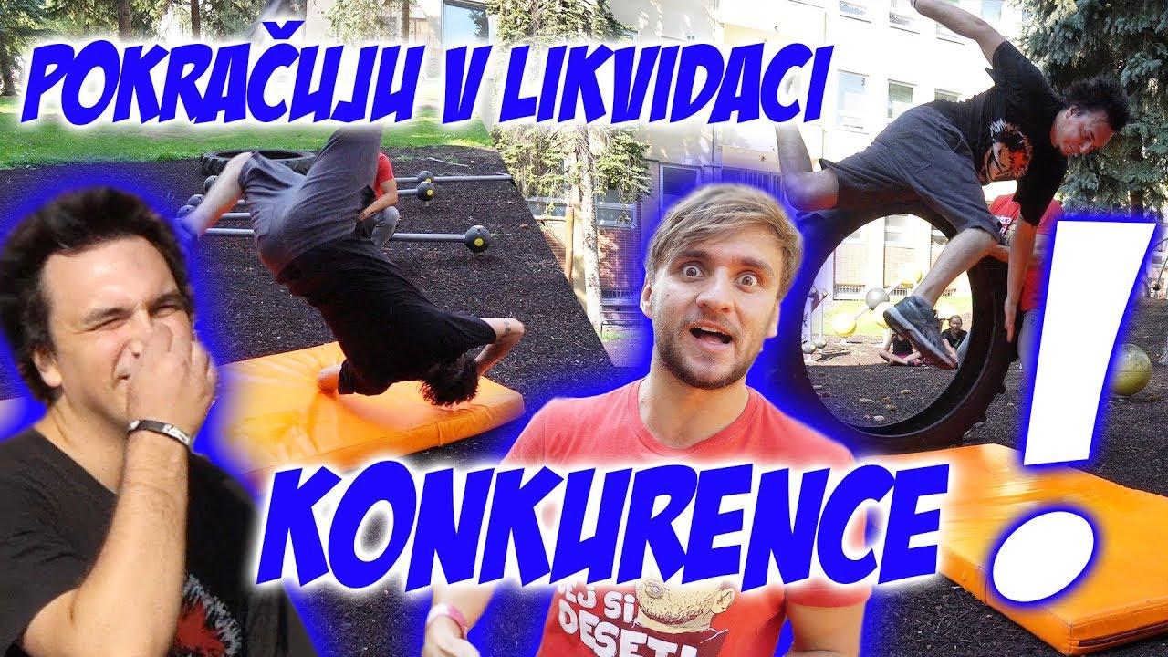 Učím youtubery parkour #21 | AtiShow