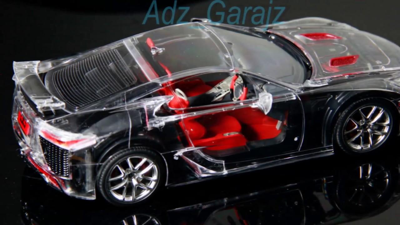 Lexus LFA Full View Sportscar Model 1:24