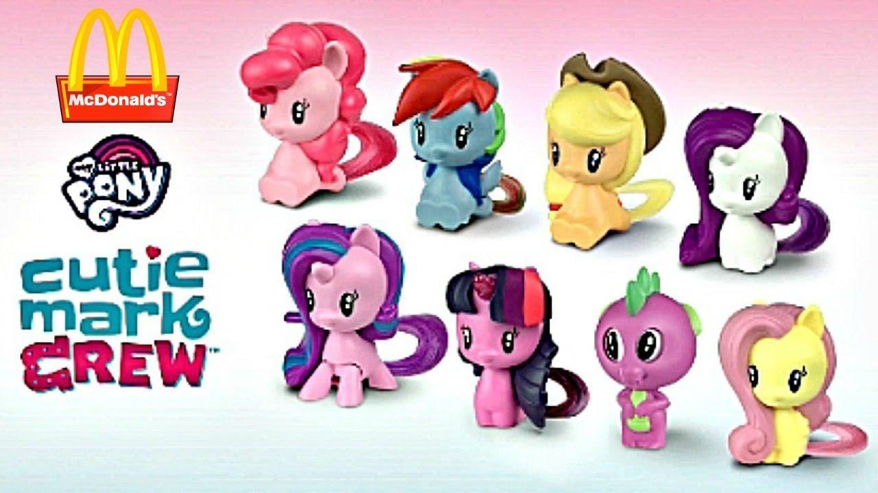 2018 McDonalds My Little Pony Happy Meal Toy Pinkie Pie #1