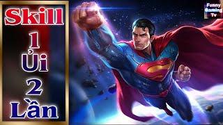 Download LIÊN QUÂN   Superman mùa 17 được tăng sức mạnh, skill 1 dùng được 2 lần.