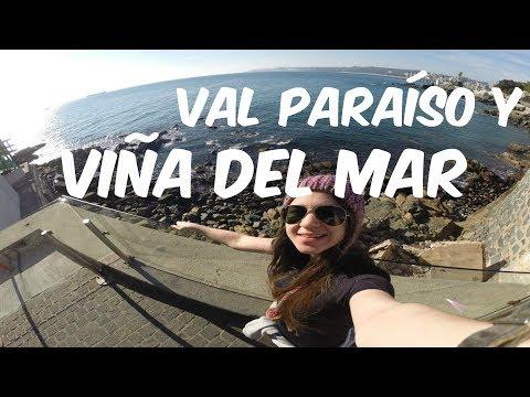 Valparaíso y Viña del Mar | CHILE 2014 ♥ Vlog de Viaje