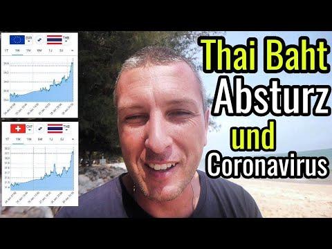 Thai Baht Stürzt Ab Und Coronavirus Update