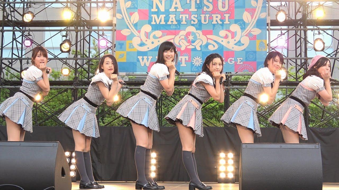 星空を君に 思春期のアドレナリン 47の素敵な街へ AKB48 Team8 TBC開局65周年 震災復興支援イベント TBC夏まつり2017 #1