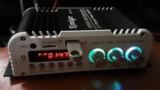 Amply mini 12v  2.1 có bluetooth hy 118 giá 550k chưa nguồn