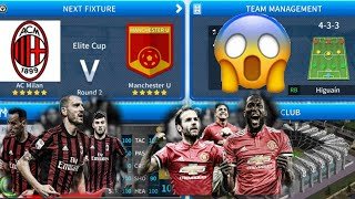 Dream League Soccer 2019 | AC Milan Vs Manchester United Android Gameplay #16